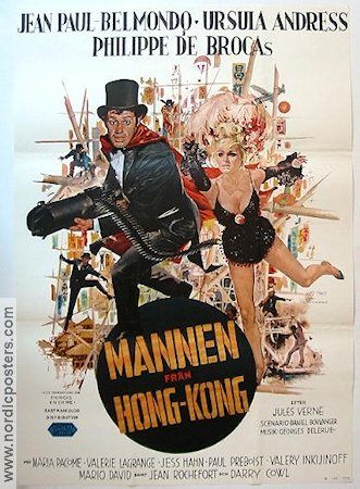 Les tribulations dun chinois 1965 Movie poster Jean-Paul Belmondo