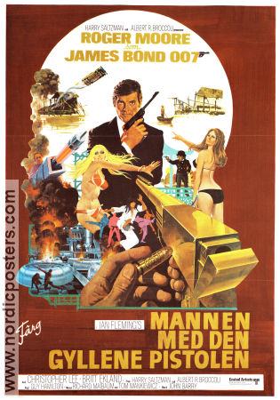 The Man with the Golden Gun 1974 poster Roger Moore Guy Hamilton