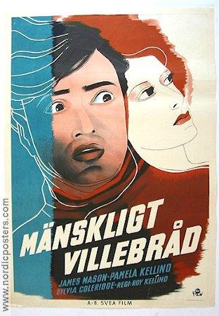 i met a murderer poster 1940 james mason original