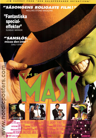 the mask movie poster 1994 original nordicposters