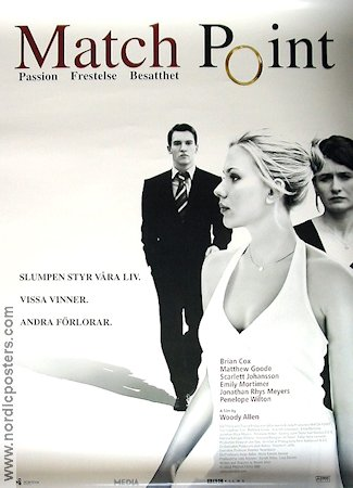 MATCH POINT Movie poster 2005 original NordicPosters