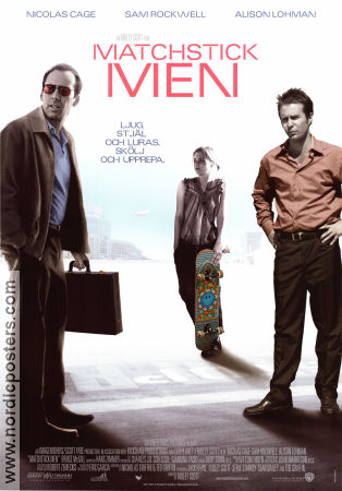 Matchstick Men 2003 poster Nicolas Cage