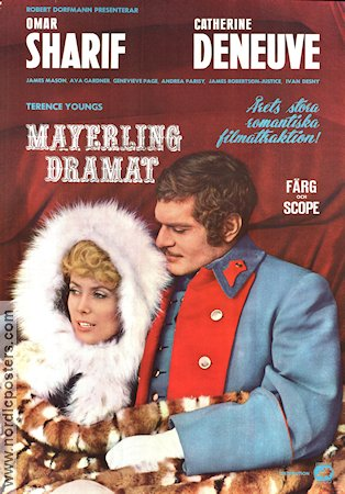 Mayerling 1968 poster Omar Sharif Terence Young