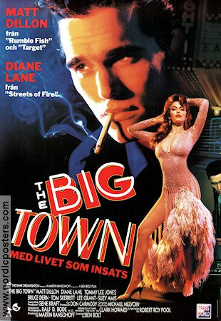 The Big Town 1987 Movie poster Matt Dillon