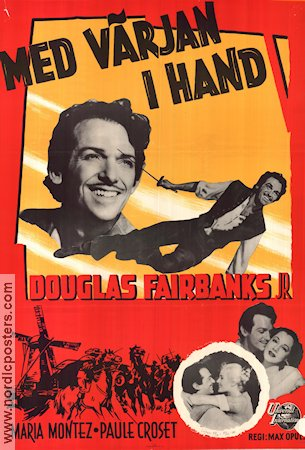 The Exile 1948 Movie poster Douglas Fairbanks Jr Max Oph�ls