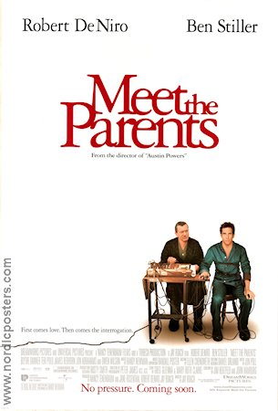 Meet the Parents 2000 Robert De Niro Ben Stiller