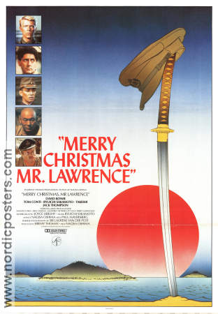 Merry Christmas Mr Lawrence 1982 David Bowie Tom Conti