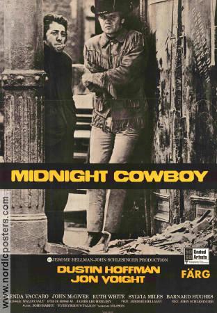 midnight cowboy movie poster 1969 original nordicposters