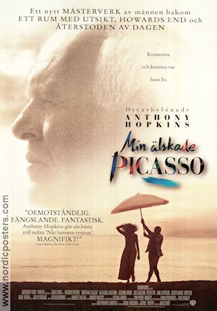 Surviving Picasso 1996 poster Anthony Hopkins James Ivory