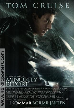 minority report 2002 minority report movie poster 70x100cm as new