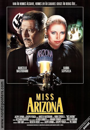Miss Arizona 1987 poster Marcello Mastroianni