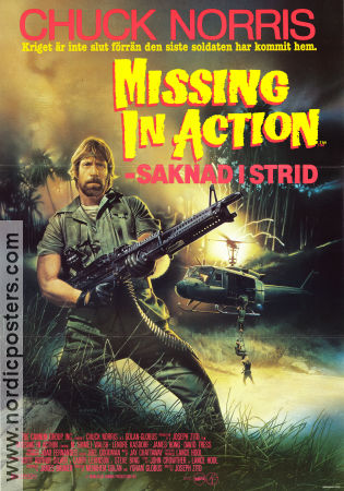 Marvelous Missing In Action 1984 Poster Chuck Norris Regard To Missing In Action Poster