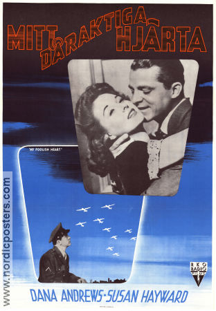 My Foolish Heart 1949 Dana Andrews Susan Hayward