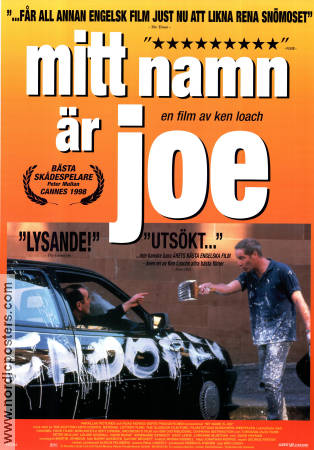 My Name is Joe 1998 poster Peter Mullan Ken Loach
