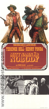My Name is Nobody 1974 poster Terence Hill Sergio Leone