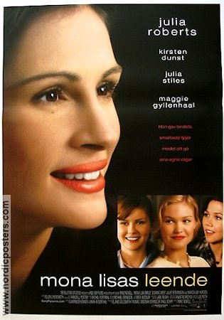 Mona Lisa Smile 2004 Movie poster Julia Roberts