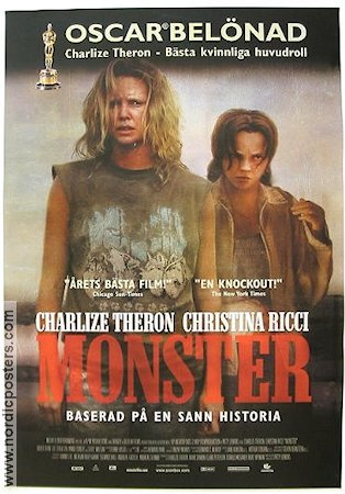 Monster 2003 poster Charlize Theron