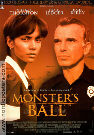 Monster's Ball 2002 Poster Billy Bob Thornton