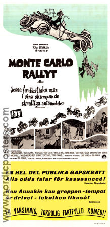Monte Carlo-rallyt 1969 Movie poster Tony Curtis