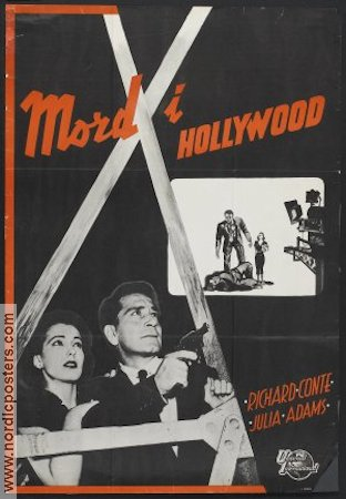 Hollywood Story 1951 poster Richard Conte