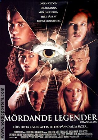Urban Legend 1999 poster Jared Leto