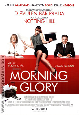 Morning Glory 2010 poster Rachel McAdams Roger Michell