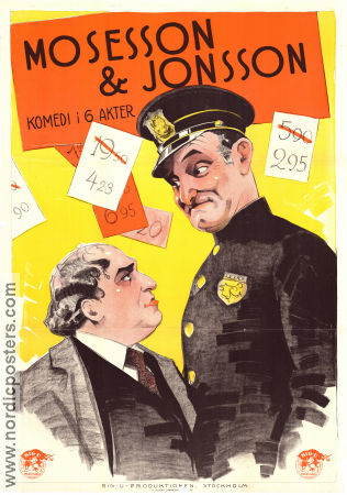 The Cohens and Kellys 1926 poster Charles Murray