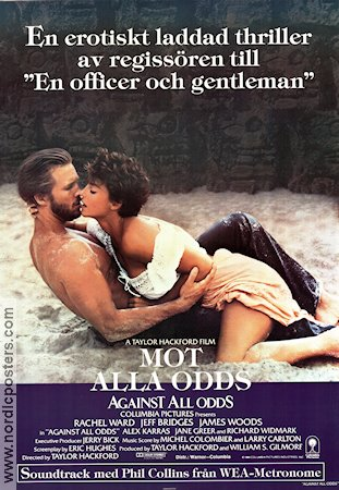 Against All Odds 1984 poster Rachel Ward