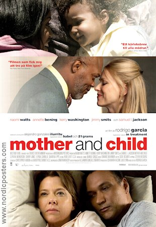 Mother and Child 2009 poster Naomi Watts