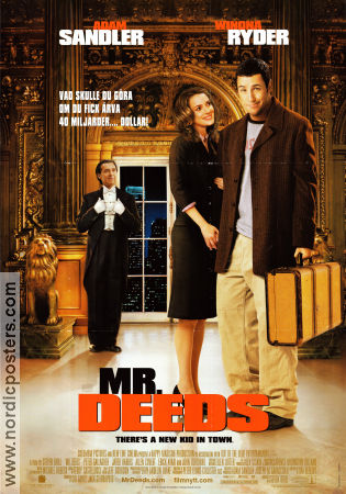 Mr Deeds 2002 Adam Sandler Winona Ryder