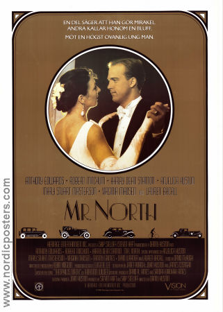 Mr North 1988 poster Anthony Edwards Danny Huston