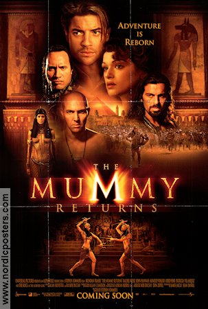 The Mummy Returns 2001 Brendan Fraser Rachel Weisz Stephen Sommers