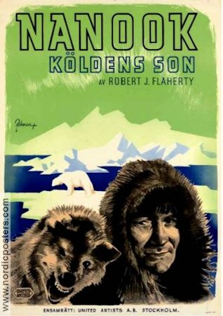 Nanook of the North 1922 poster Robert J Flaherty