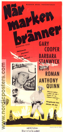 Blowing Wild 1953 poster Gary Cooper