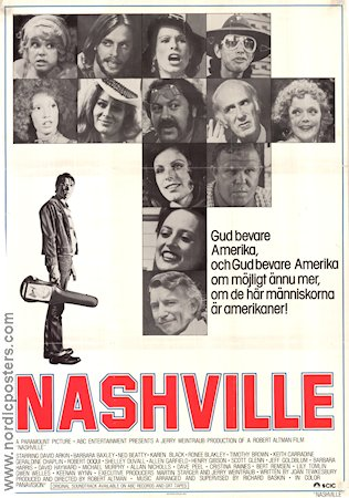 Nashville 1975 Robert Altman Keith Carradine Karen Black