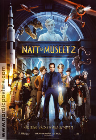 Natt på museet 2 2009 Movie poster Ben Stiller