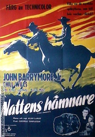 High Lonesome 1952 poster John Barrymore jr