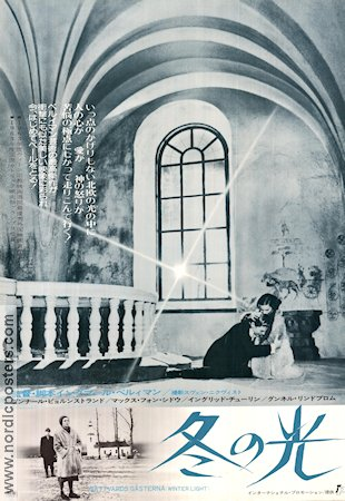 Winter Light 1963 poster Ingrid Thulin Ingmar Bergman