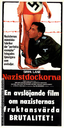 Nazi Love Camp 1977 poster Sirpa Lane William Hawkins