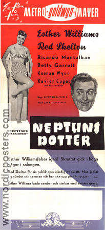 Neptune´s Daughter 1949 poster Esther Williams Edward Buzzell