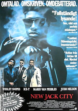New jack city movie poster