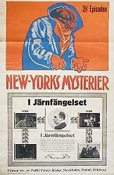 New Yorks mysterier 2 1917 Movie poster Elaine Dodge