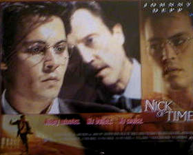 Nick of Time 1995 lobby card set Johnny Depp