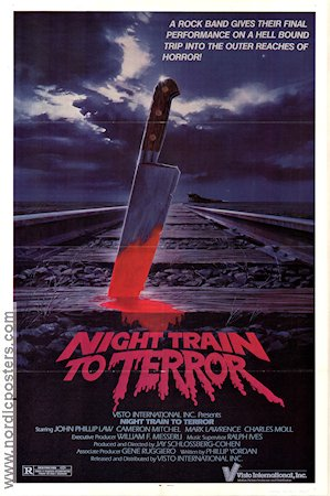 night train to terror 1985 night train to terror movie poster