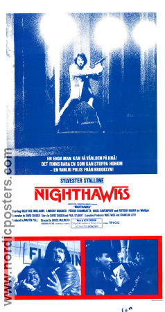 Nighthawks 1981 poster Sylvester Stallone Bruce Malmuth