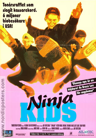 3 Ninjas 1992 Movie poster Victor Wong