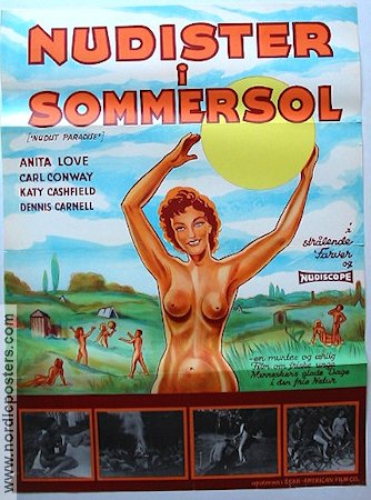 Nudist Paradise 1958 poster Anita Love