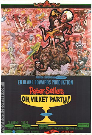The Party 1969 Blake Edwards Peter Sellers