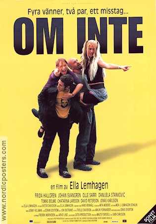 Om inte 2001 Movie poster Frida Hallgren Ella Lemhagen