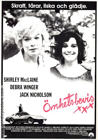 Terms of Endearment 1983 poster Jack Nicholson